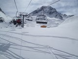 Pistes accessibles de la location les Arcs 1800